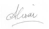 Alison Whybrow signature